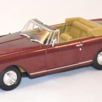 Bentley s2 continental dhc bordeaux 1961 miniature yatming signature 1 43 1