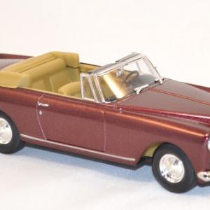 Bentley s2 continental dhc bordeaux 1961 miniature yatming signature 1 43 2