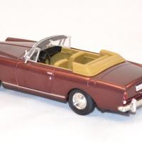 Bentley s2 continental dhc bordeaux 1961 miniature yatming signature 1 43 3