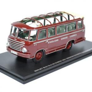 BerlietBus GLA 5S Dubos 1951 version ouverte avec 2 figurines