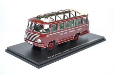 BerlietBus GLA 5S Dubos 1951 open roof with 2 figurines