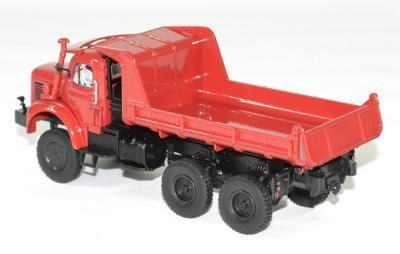 Berliet gbc 8 6x6 benne rouge 1958