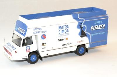 Berliet stradair Team Matra Simca 1974