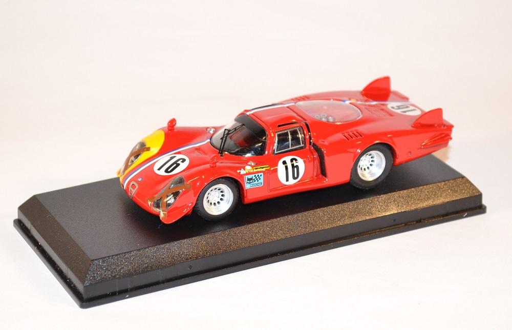 Best 1 43 alfa romeo 33 2 lunga spa 1968 miniature course endurance raceautostore 1