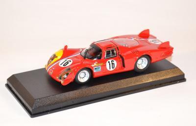 Alfa Roméo 33.2 Lunga #16 Pilett Spa 1968 Best 1-43
