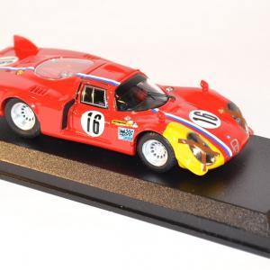 Best 1 43 alfa romeo 33 2 lunga spa 1968 miniature course endurance raceautostore 2