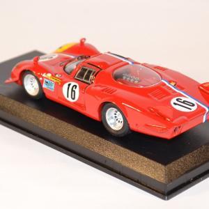 Best 1 43 alfa romeo 33 2 lunga spa 1968 miniature course endurance raceautostore 3