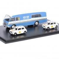 Bmc car transport mini 1275gt bln 1 76 oxford autominiature01 1