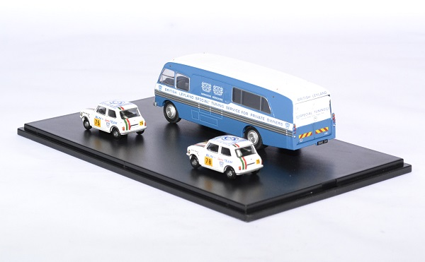 Bmc car transport mini 1275gt bln 1 76 oxford autominiature01 2