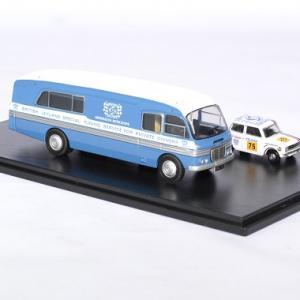 Bmc car transport mini 1275gt bln 1 76 oxford autominiature01 3