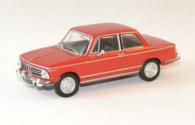 Bmw 2002 ti rouge 1968