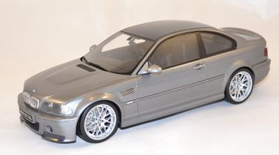 Bmw e46 M3 csl 2003 silver Ottomobile 1-18
