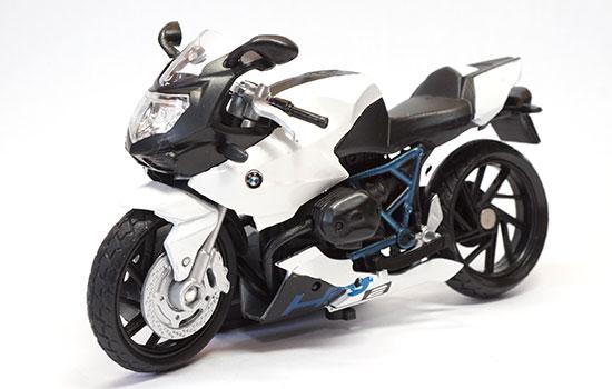 Bmw hp2 sport noire et blanche motormax mom762452 autominiature01 com