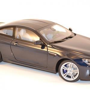 Bmw m6 f13m coupe bleue 1 18 paragon 97052 autominiature01 com 2