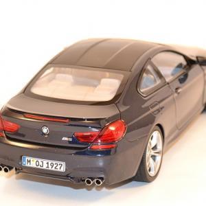Bmw m6 f13m coupe bleue 1 18 paragon 97052 autominiature01 com 3