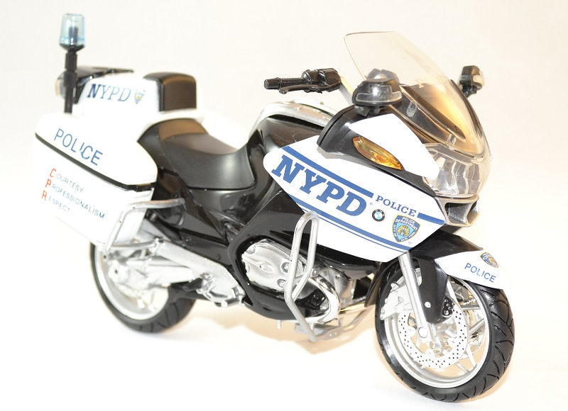 Bmw police 1200 new ray new yord moto 1 12 autominiature01 3