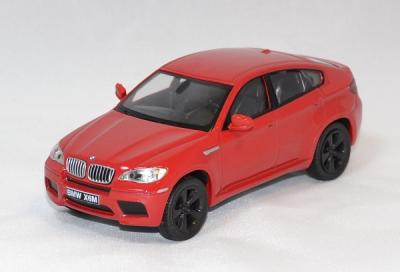 Bmw X6 M rouge 2007 solido 1/43