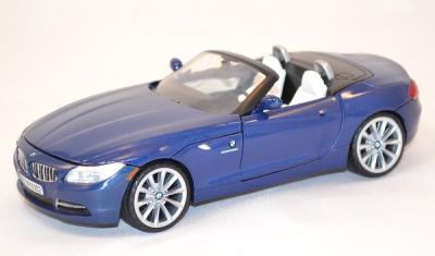 Bmw Z4 2010 bleu 1/24 Motor max