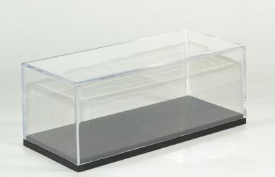 Boite vitrine transparente pour vitrines et étagères