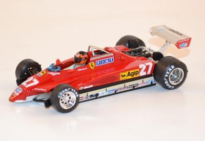Ferrari 126 C2 Turbo GP San Marino G. Villeneuve