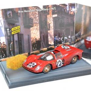 Ferrari 330 P4 #224, nino Vaccarella Targa Florio Brumm 1/43