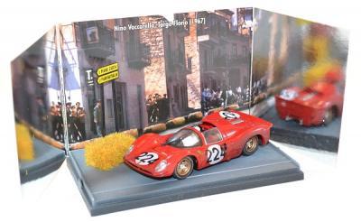 Ferrari 330 P4 #224, nino Vaccarella Targa Florio