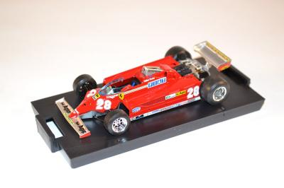 Ferrari 126 C2 GP Monte carlo 1981 D.Pironi Brumm 1-43