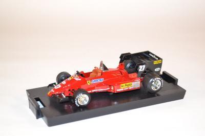 Ferrari 126 C4 1er GP belgique 1984 Alboreto #27