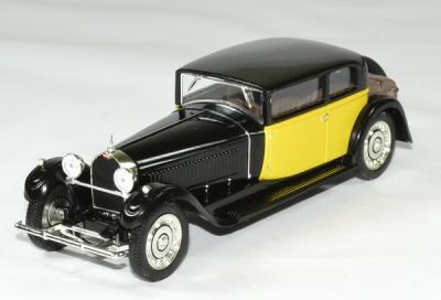 Bugatti 41 Royale coach (weymann) 1962 noire - jaune