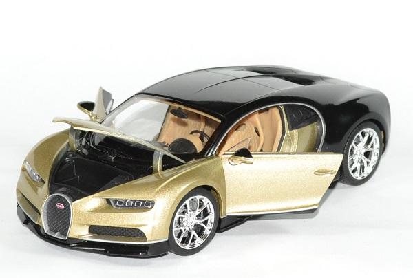 Bugatti Chiron beige métallisé Welly 1/24 wel24078blu