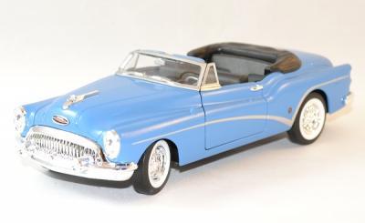 Buick Skylark cabriolet 1953 bleue