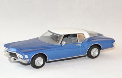 Buick riviera bleu 1972 coupé