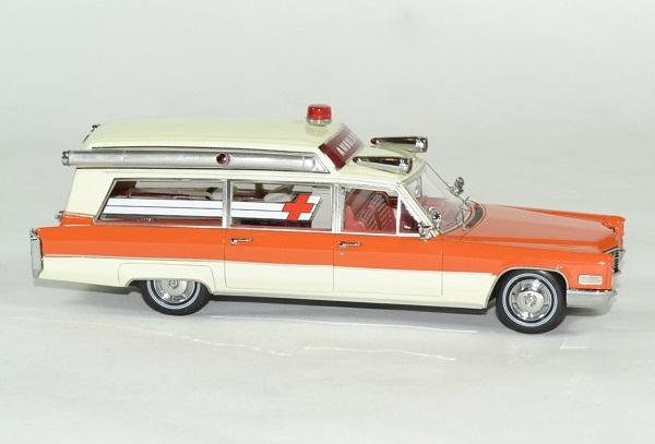 Cadillac ambulance 1966 neo 1 43 autominaiture01 3