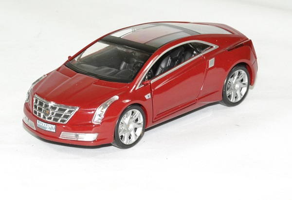 Cadillac converj 2009 rouge 1 43 luxury autominiature01 1
