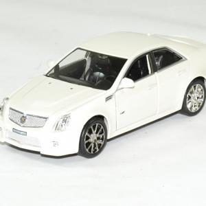 Cadillac cts v 2009 blanc 1 43 luxury autominiature01 1