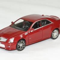 Cadillac cts v 2009 rouge 1 43 luxury autominiature01 1