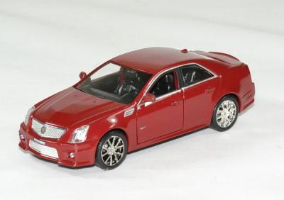 Cadillac CTS-V 2009 rouge