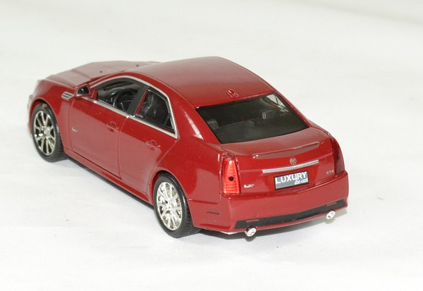 Cadillac cts v 2009 rouge 1 43 luxury autominiature01 2