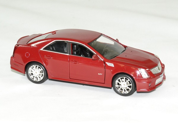 Cadillac cts v 2009 rouge 1 43 luxury autominiature01 3