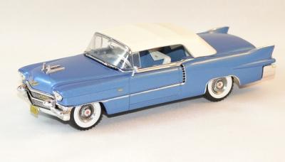 Cadillac Eldorado Biarritz de 1956 bleu / blanc