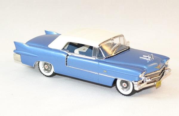 Cadillac Eldorado Biarritz De 1956 Blue And White Ixo 1 43