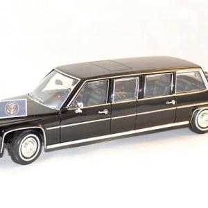 Cadillac limousine 1983 president usa 1 24 lucky diecast autominiature01 1