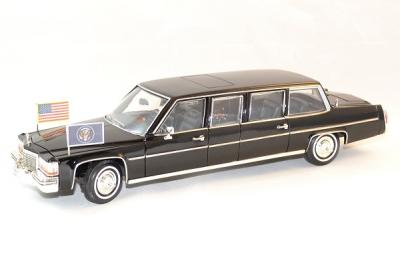 Cadillac parade car limousine 1983 président américain R. W. Reagan