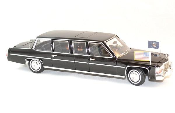 Cadillac limousine 1983 president usa 1 24 lucky diecast autominiature01 4