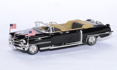 Cadillac limousine Reine Elisabeth II visite aux USA 1956