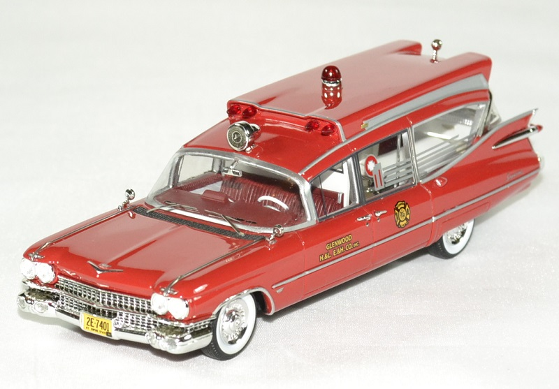 Cadillac series 75 s s ambulance 1 43 neo autominiature01 1
