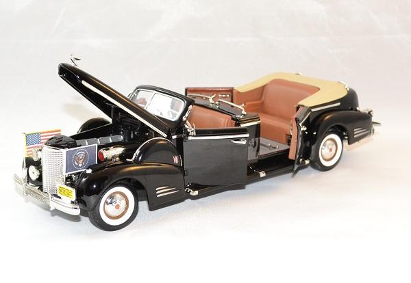 Cadillac v16 limousine president 1938 usa lucky 1 24 autominiature01 3
