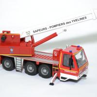 Camio grue sapeurs pompiers yvelines 78 bburago bur32010 autominiature01 2