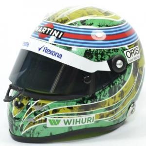 Casques F1 2016 F. Massa Almost last race