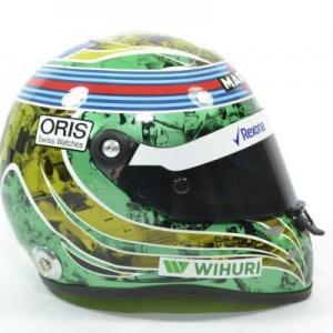 Casque 1 2 massa 2016 last race mini helmet autominiature01 01229 3